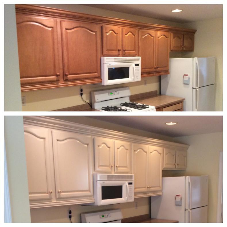 Renewing Kitchen Cabinets: Nhance Wood Renewal